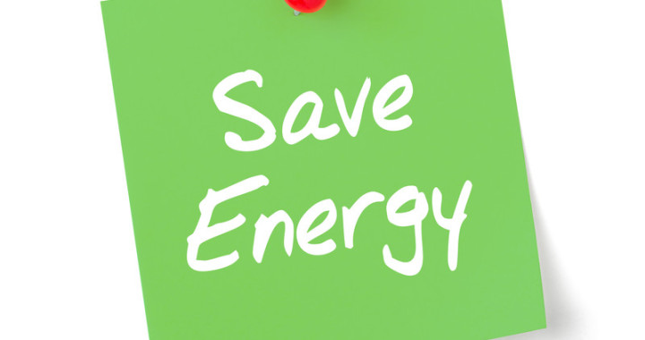 save energy note